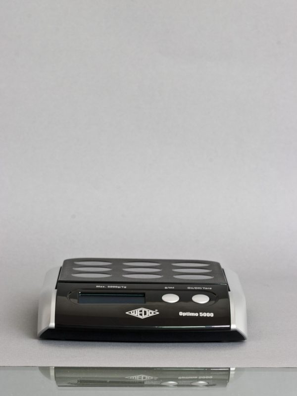 Upright Digital Postal Scale - Black Front View